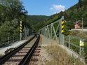 Železniční most přes Svratku, Doubravník.